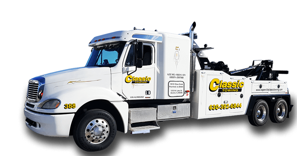 classic towing romeoville il romeoville tow service romeoville semi truck and tractor. Black Bedroom Furniture Sets. Home Design Ideas