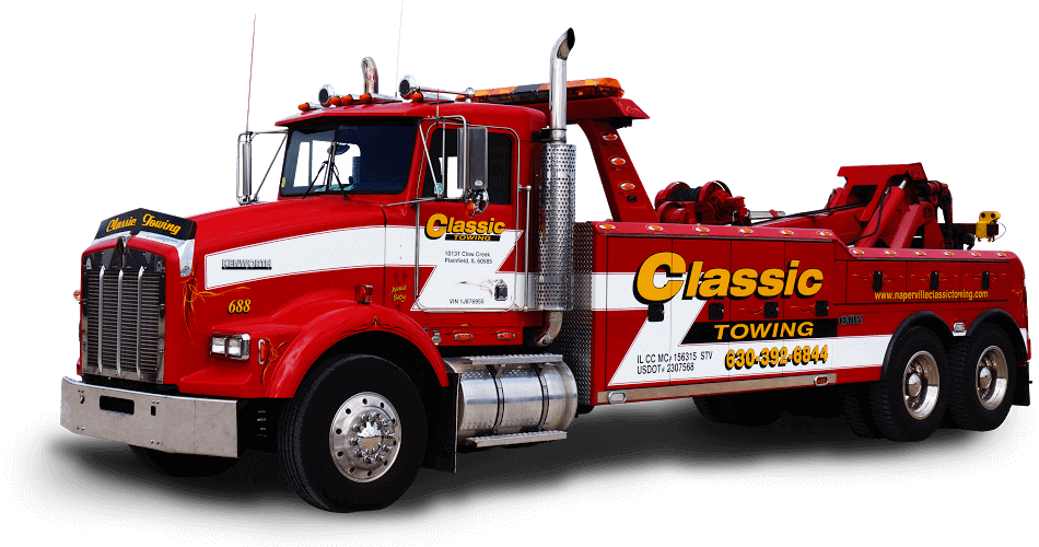 heavy duty towing Naperville IL